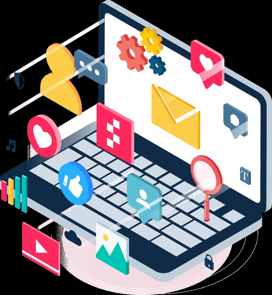 ClusterWall - Rede social, comunicação e partilha de conteúdos
