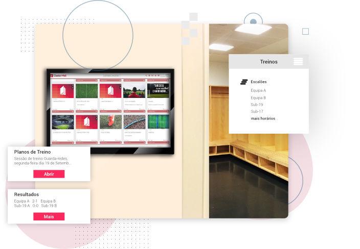 ClusterWall - Planos de treino clubes de futebol