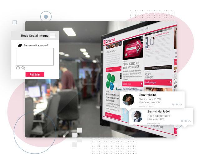 ClusterWall - Rede social interna para empresas
