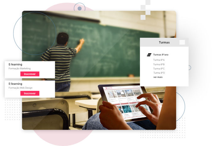 ClusterWall - Social network for schools