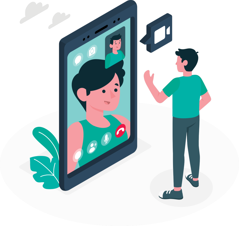 ClusterWall - Video calls for retail