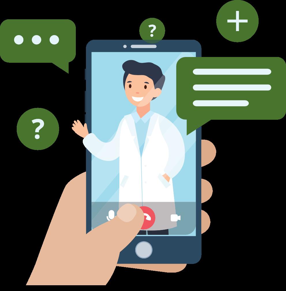 ClusterWall - Pharmacies video calls