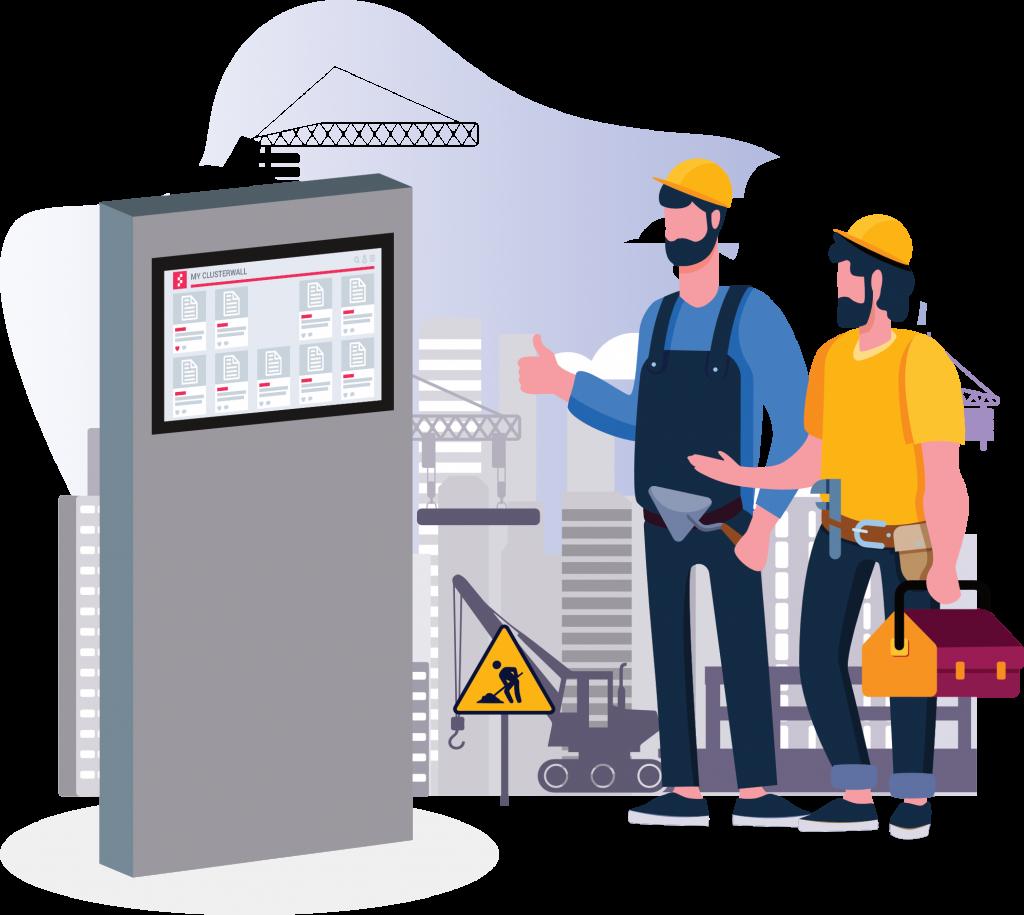 ClusterWall - Digital platform for Civil Construction