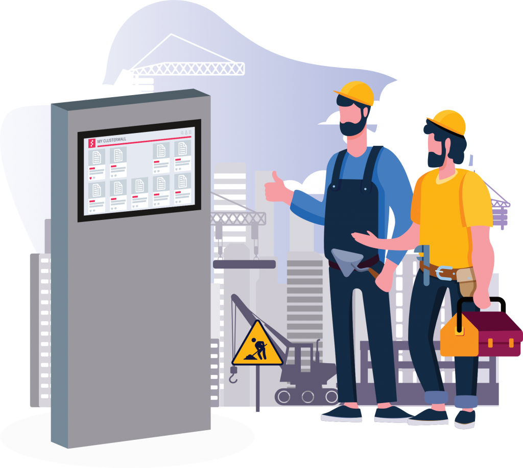 ClusterWall - Plataforma digital para Construção Civil
