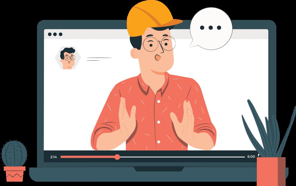E-learning: Online video education!