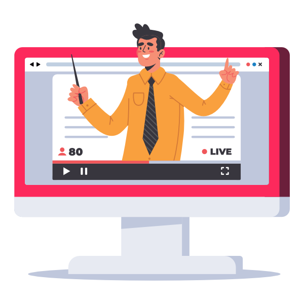 Invest in your users' learning through online training